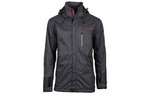 axant Pro Outdoor impermeable Homme Climatex 3000 gris/rouge